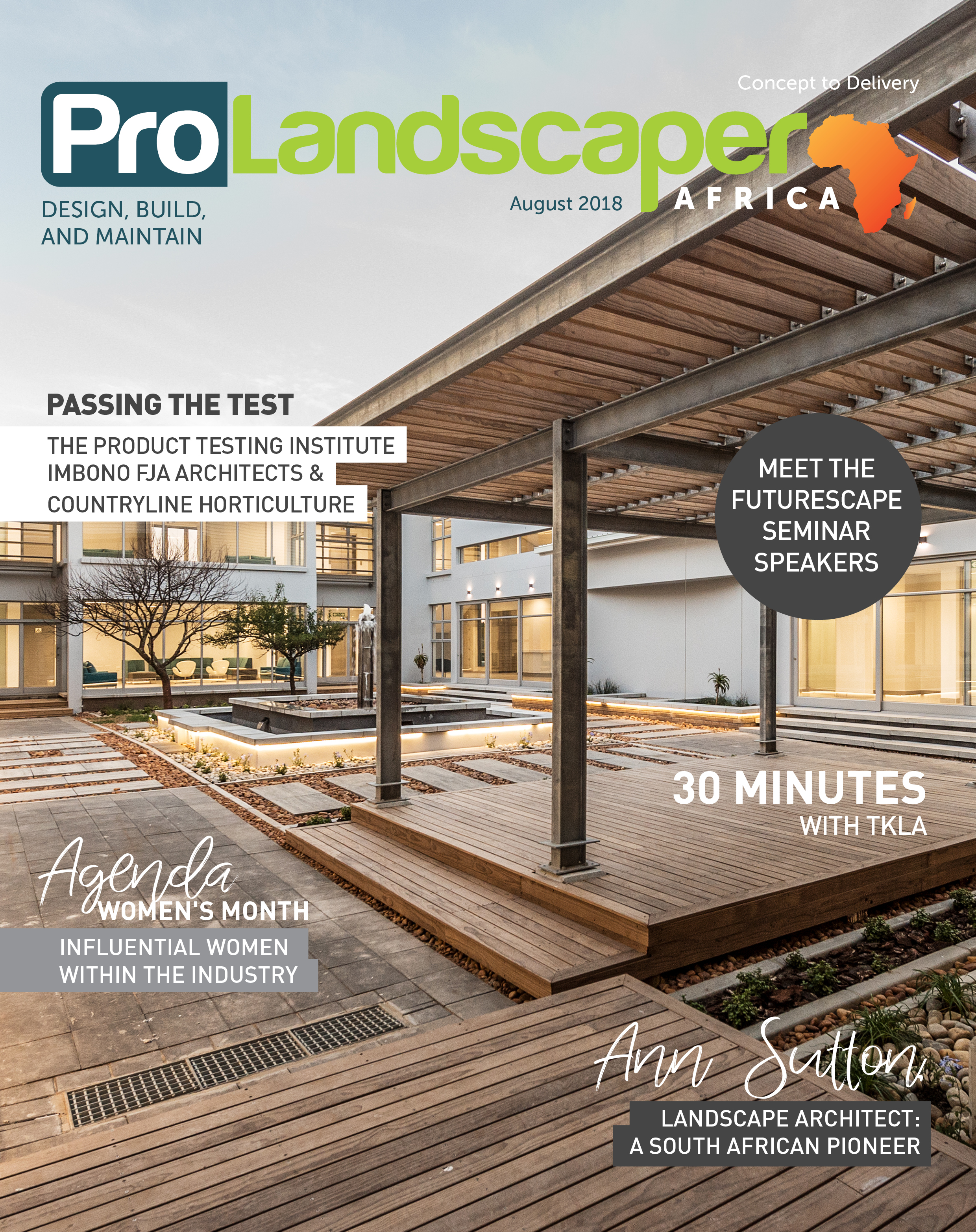 Pro Landscaper Africa August Issue