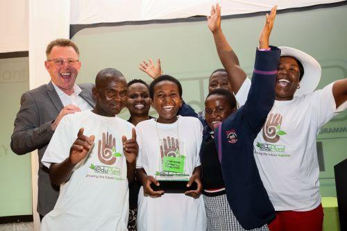 Winners announced at South African school's premier food gardening and greening competition
