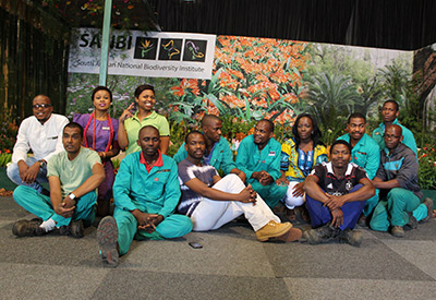 KwaZulu-Natal NBG display wins at 40th Witness Garden Show