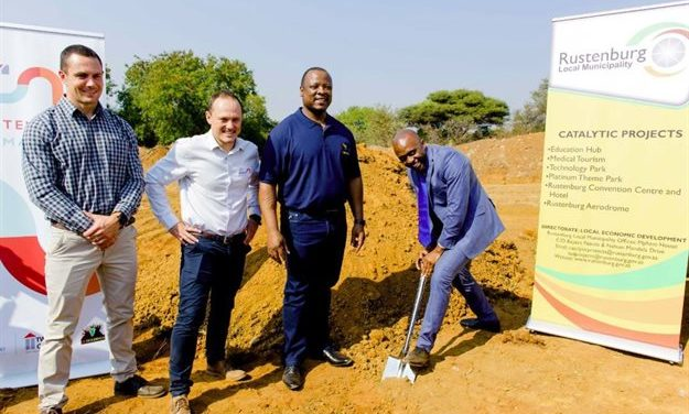 Phase one of Rustenburg Mall under way