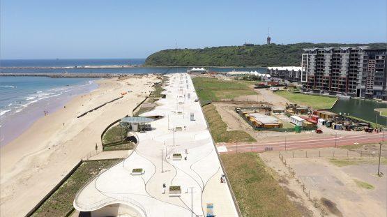 Durban beachfront promenade gets R380m extension