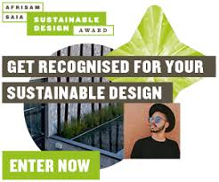 Entries open for 2019/2020 AfriSam-SAIA Sustainable Design Award