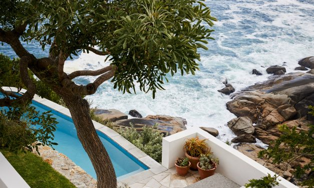 Antonio Zaninovic and Tara Bean renovate clifftop Icaria House in Cape Town