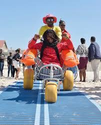 Muizenberg rolls out access mat to make beach wheelchair-friendly