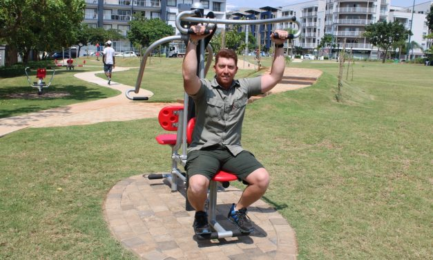 New uMhlanga outdoor gym a hit with residents