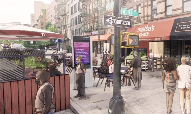 David Rockwell unveils kit to build restaurants on streets following pandemic
