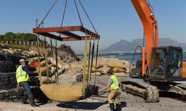Big Bay and Small Bay coastal protection project well underway