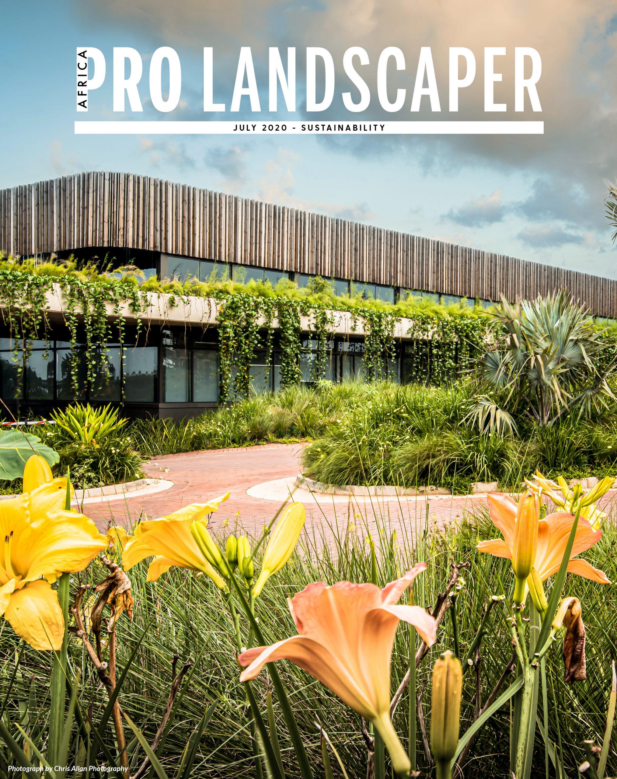 Pro Landscaper Africa July Sustainability