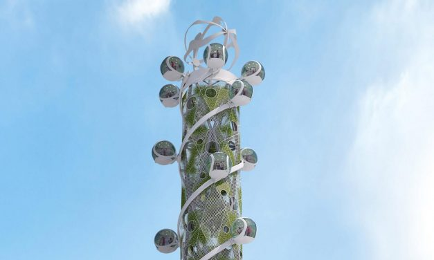"""Spiral Tower would be world's first """"climate-neutral high-rise attraction"""""""