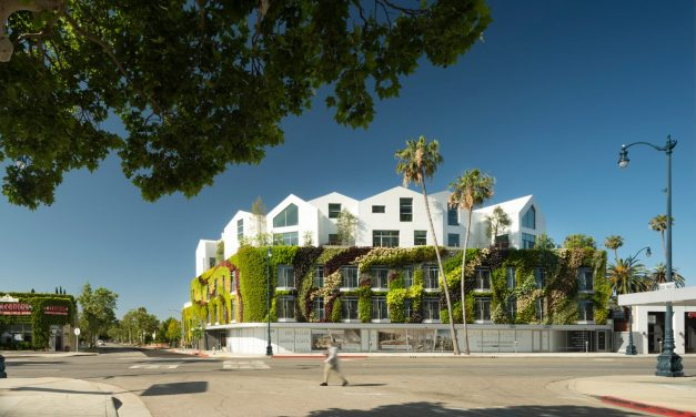 "MAD wraps Beverly Hills residences Gardenhouse with America's ""largest living wall"""