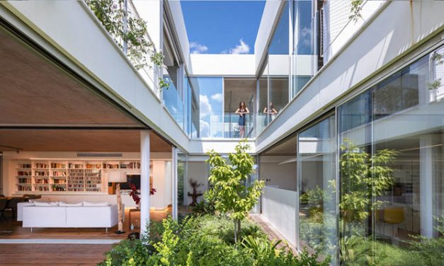 christos pavlou brings nature back to the city with the 'garden house' in nicosia, cyprus