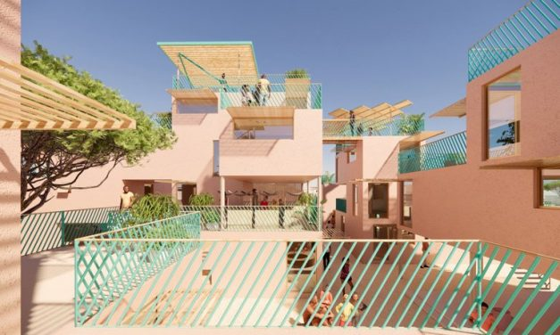 julien de smedt joins forces with othalo to build housing from recycled plastic