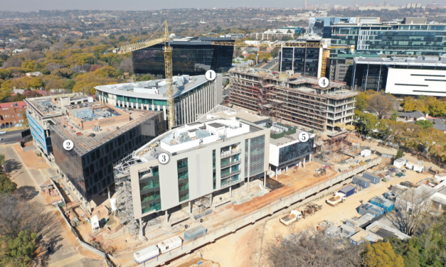 300 000M² GREEN-STAR PRECINCT HEADING FOR COMPLETION