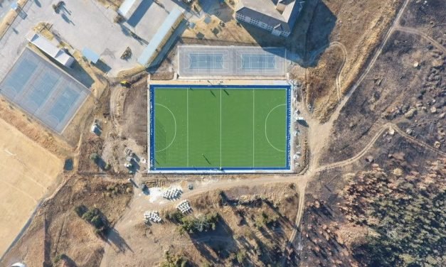 Turftech install Water wise hockey pitch, allowing school to introduce a new sport.