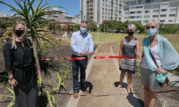 Experiential Education Garden now open