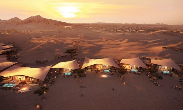 Foster + Partners' hotel to be built amongst Saudi Arabian sand dunes