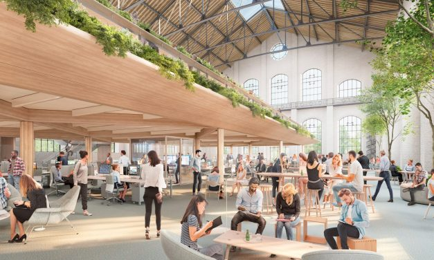 Foster + Partners to transform abandoned gas plant in Madrid into offices