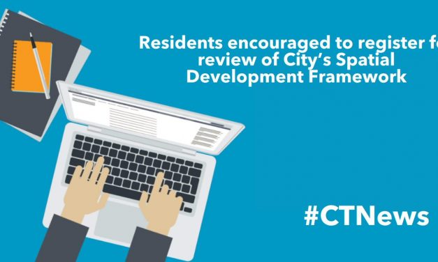 Residents encouraged to register for review of City's Spatial Development Framework
